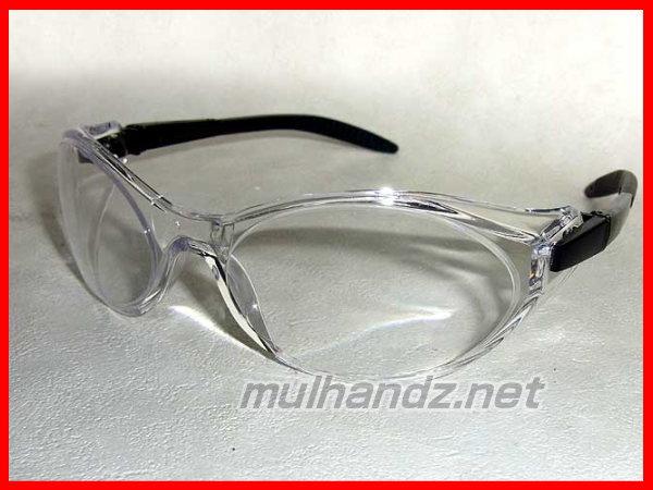 曇らない セーフティーグラス クリア 安全メガネ 保護眼鏡 工具のプロ